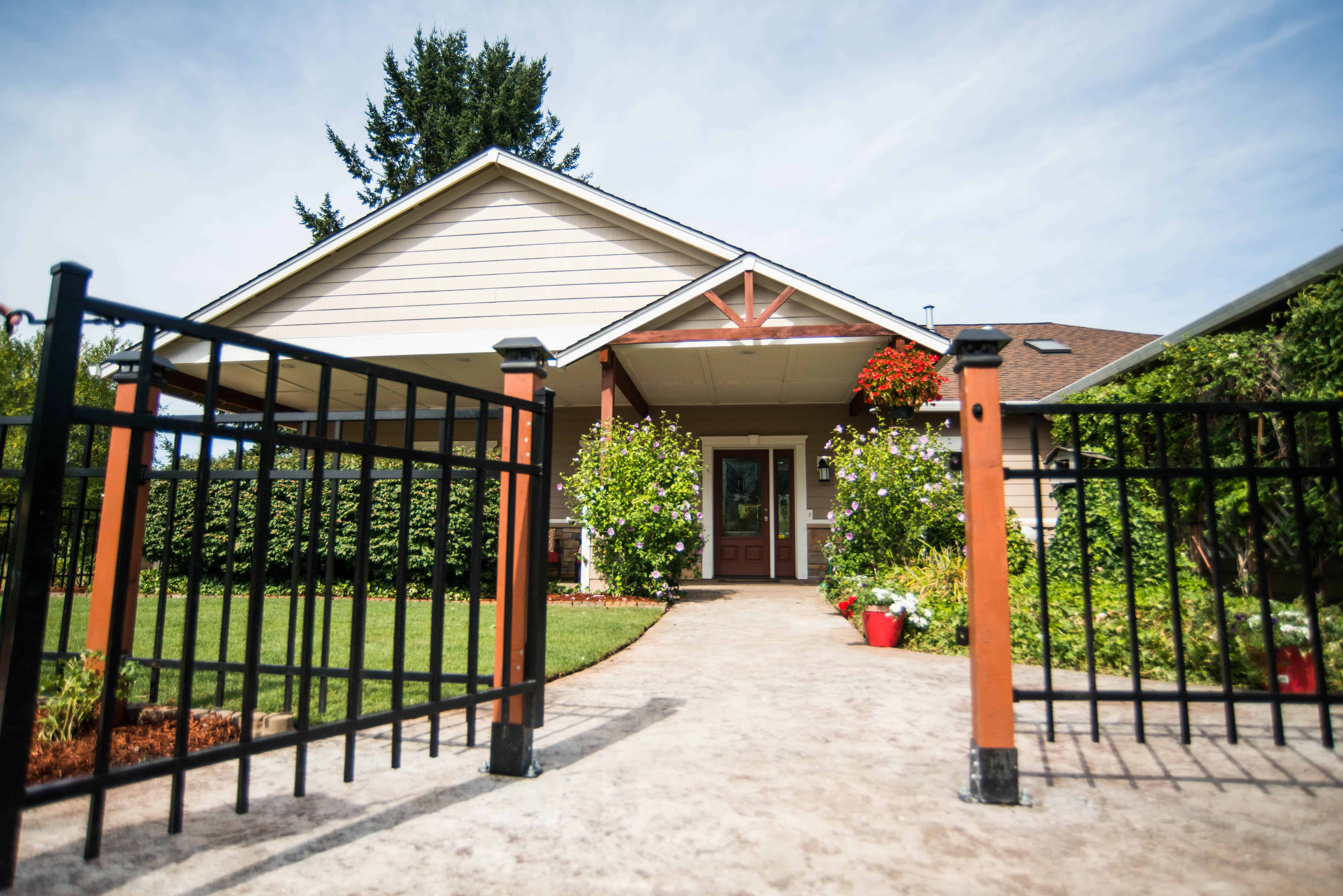 Green Meadows Care Home Front Entrance, Adult Family Home, Elder Care, Assisted Living